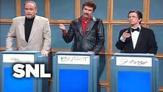 Video Celebrity Jeopardy!: Sean Connery, Burt Reynolds, Jerry Lewis - SNL MP3, 3GP, MP4, WEBM, AVI, FLV Maret 2018