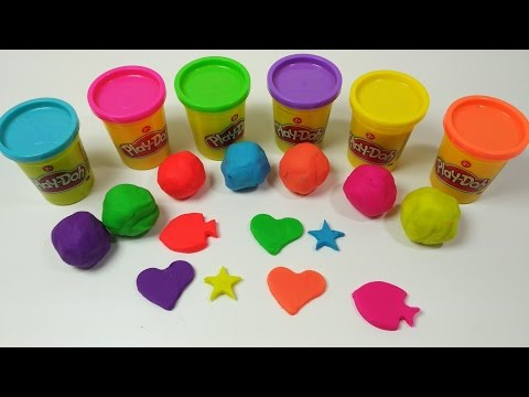 Lern colors with Play Doh #Lern colours (видео)