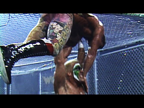 Sting's Squadron vs. The Dangerous Alliance - WarGames Match: WCW WrestleWar 1992 (WWE Network)