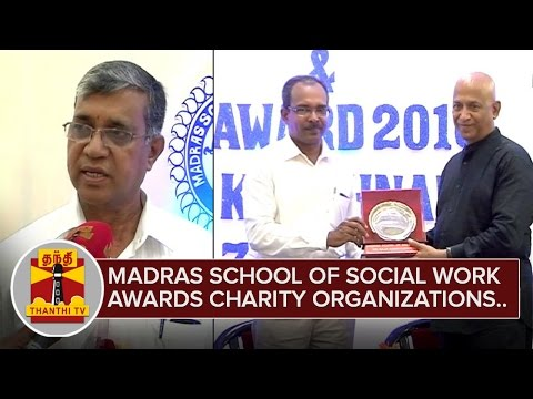 Madras-School-of-Social-Work-presents-awards-to-Charity-Organizations-Thanthi-TV