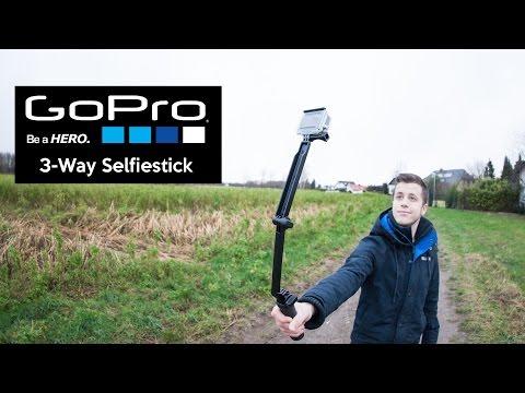 GoPro 3-Wege-Halterung   Selfiestick im Test