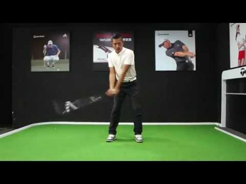 Pro Am Golf Academy 身體停止旋轉產生的問題2