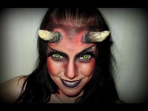 Djevel ( Devil) – Halloween makeup