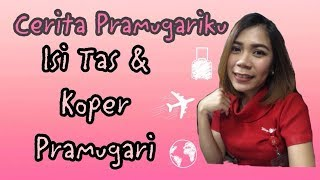 Video Cerita Pramugariku | Isi Koper & Tas Pramugari MP3, 3GP, MP4, WEBM, AVI, FLV April 2019