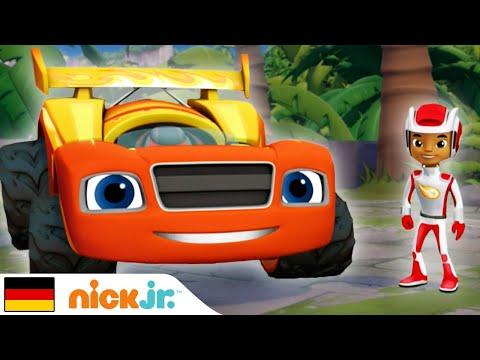 Blaze and the Monster Machines   Beste Rennstrecken - Teil 3   Nick Jr.