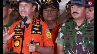 Video [FULL] Kabasarnas & Panglima TNI Soal Pencarian Hari Ke-3 MP3, 3GP, MP4, WEBM, AVI, FLV November 2018