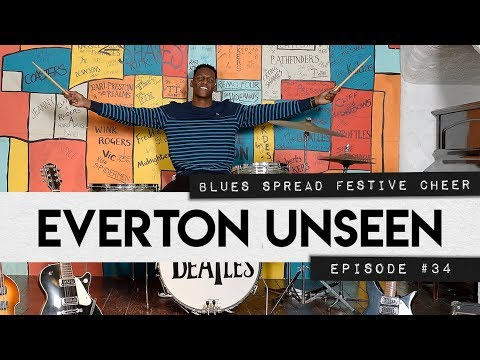 Video: EVERTON UNSEEN #34: YERRY MINA JOINS THE BEATLES + TOFFEES TRAIN AHEAD OF MAN CITY CLASH