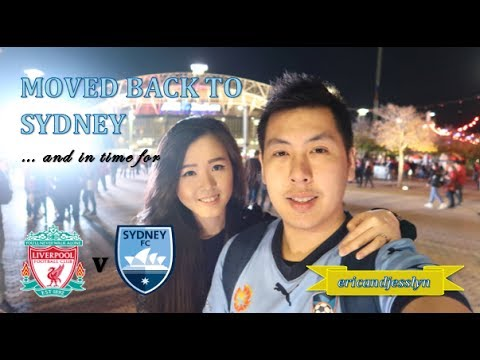 BACK IN SYDNEY... And In Time For SYDNEY FC FRIENDLY V LIVERPOOL FC | Ericandjesslyn VLOGS #7 |