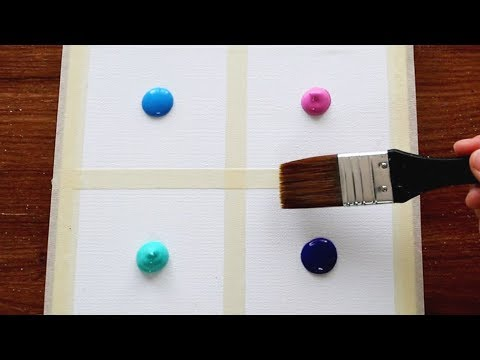 4 Type Of Drawing CloudsпEasy amp Simple Acrylic Painting Step by Step For Beginners 243пSatisfying