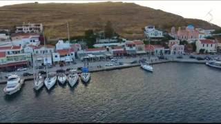 Kea Greece  city photos : KEA ISLAND GREECE 4K - PHANTOM4 & OSMO
