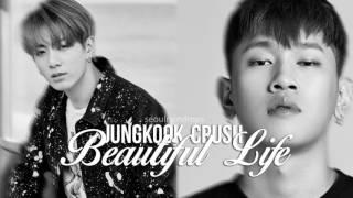 Jungkook & Crush - Beautiful [SeoulRaindrops MASH UP]