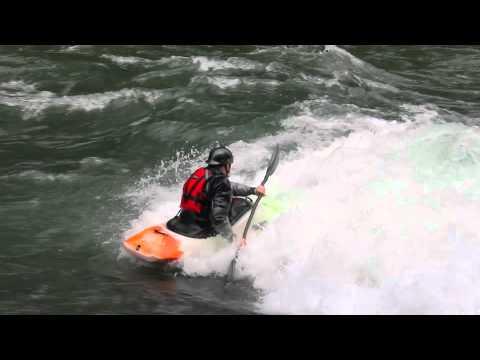 White Water Kayaking  Surfing Edition.