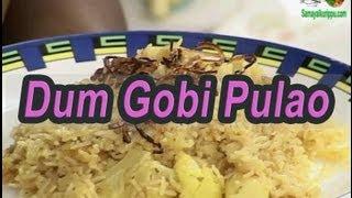 Indian Cuisine | Tamil Food | Dum Gobi Pulao