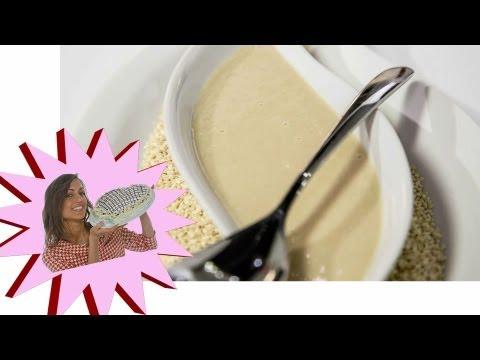 ricetta vegan - salsa tahina