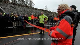 Åpning av ny Fv723 til Stoksund