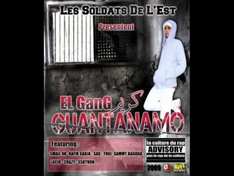 RAP Algérien EDHIB GHABETLO 04 Guantanamo2009 Karim ElGanG ft Rasta (видео)