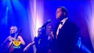 """For better sound and widescreen format add &fmt=18 to the end of the url. Paul Potts' debut CD """"One Chance"""" is now available, in stores in the US, Europe and around the world or on line.Paul's official websites are:http://sonybmg.co.uk/artists/paul_potts/Official Website:-http://www.paulpottsuk.com/Official myspace:-http://www.myspace.com/officialpaulpottsmusicPaul Potts singing Nessun Dorma live on GM TV in the UK. First Broadcast on 12 July 2007. To be followed by a live webcast/webchat. Check out their website: http://www.gm.tv"""