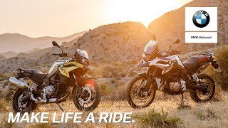 7. IN THE SPOTLIGHT: BMW F 750 GS and BMW F 850 GS.