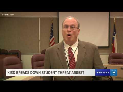 KISD breaks down student threat arrest
