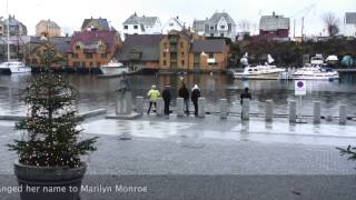 Haugesund Norway  City pictures : Haugesund, Norway - December 2014 - A Black Watch Cruise day