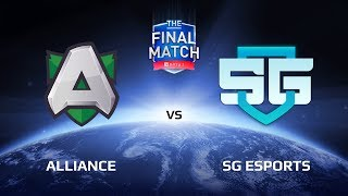 The Final Match LAN-Final Alliance vs SG eSports. Комментирует: Feaver и Bafik.Подписывайся на наш канал: http://bit.ly/dotasltv_subscribeПрисоединяйся к нашему паблику: http://vk.com/dotasltvОбщайся с нами в твиттере: http://twitter.com/dotasltvИщи самые крутые фотографии с турниров : http://instagram.com/dotasltvСтавь лайк нашей странице в ФБ: http://facebook.com/dotasltv