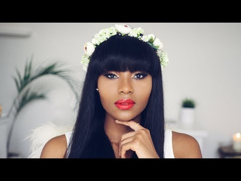 Make up - GETTING MARRIED?   SUMMER WEDDING/BRIDAL GODDESS MAKEUP FT MY FIRST WIG  DIMMA UMEH