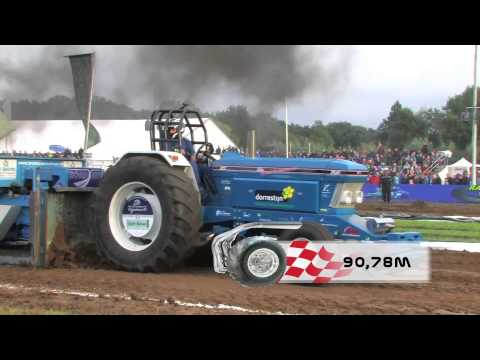 Tractorpulling - complete class / volledige klasse 3600kg supersport Bakel 30 augustus 2014.