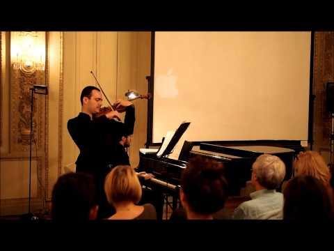 """Eric Nathan: """"Duo"""" per Violino e Pianoforte"""