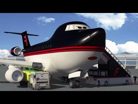 Мультфильмы будни аэропорта урок