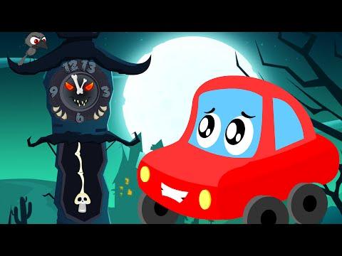 Video little red car | the clock has struck thirteen | Halloween songs for children download in MP3, 3GP, MP4, WEBM, AVI, FLV January 2017