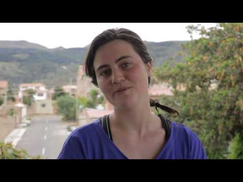 Catrin's video about volunteering with street children in Bolivia Sostenible
