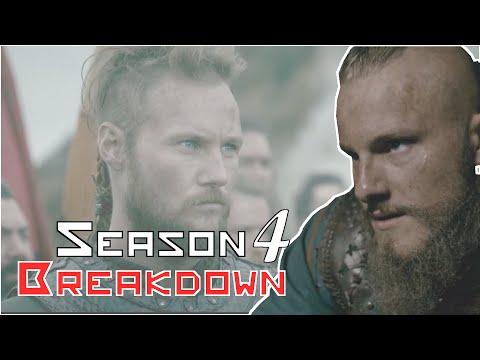 Vikings Season 4 Returns Comic-con Full Trailer Breakdown