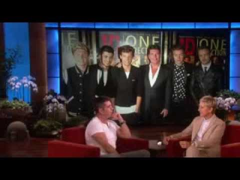 Simon cowell on one direction on the ellen show season 11 2013