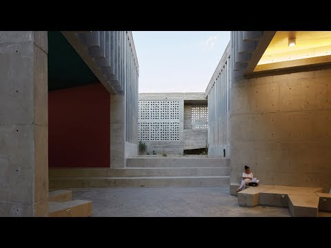 Barclay & Crousse's award-winning Edificio E captured in movie by Cristobal Palma