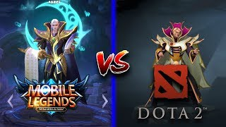 Video Mobile Legends vs DOTA 2 Side by Side Hero Comparison MP3, 3GP, MP4, WEBM, AVI, FLV Januari 2018
