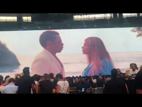 On the Run II Paris - Beyonce & Jay-z | part 1