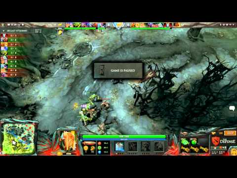 Na`Vi vs Kaipi, The Defense 4 Grand Final, game 3 MUST SEE!