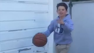 Jacob Sartorius Playing Basketball With Daniel Skye!