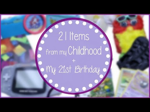 21 ITEMS FROM MY CHILDHOOD 90's KID TOY EDITION | Allie Young
