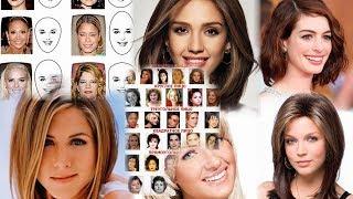 какие прически подойдут для круглого лица фото женские
