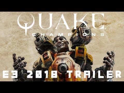 Quake Champions Trailer E3 2018