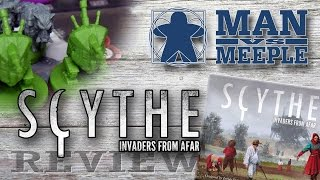 CONTEST - Win a FREE Copy of Scythe: Invaders from Afar AND a Meeple Realty Scythe Insert - How to Enter to Win: 1. Visit the Man Vs Meeple Facebook page and...