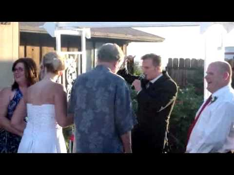 Comedian Attacked at Wedding