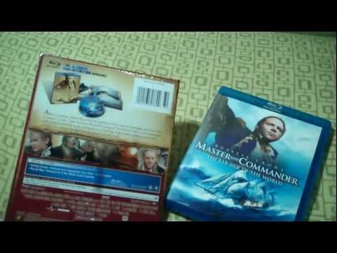 Master And Commander: The Far Side Of The World Blu-ray Digibook Unboxing