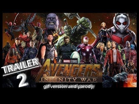 AVENGERS INFINITY WAR 'Iron Man VS Star Lord' Trailer NEW 2018 Marvel Movie HD
