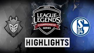 Video G2 vs. S04 - EU LCS Week 2 Day 1 Match Highlights (Summer 2018) MP3, 3GP, MP4, WEBM, AVI, FLV Juni 2018