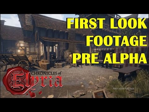 Official Chronicles of Elyria — Pre-Alpha First Look