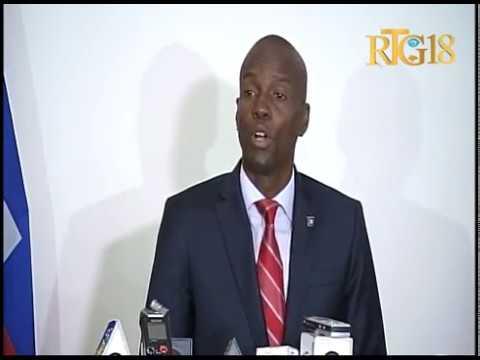 Le Président élu, Jovenel MOISE a dressé le bilan de sa visite en République Dominicaine.