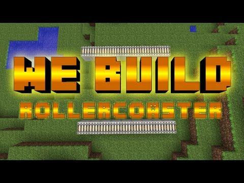 Minecraft We Build - #50 ROLLERCOASTER
