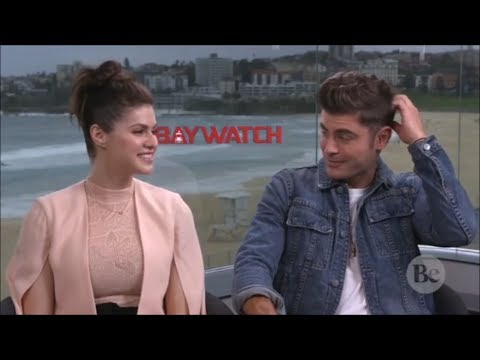 Video Zac Efron Can't Stop Blushing Around Alexandra Daddario (Flirty Interview) download in MP3, 3GP, MP4, WEBM, AVI, FLV January 2017